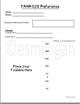 FANBOYS Student Documents