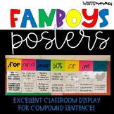 FANBOYS- conjunctions posters