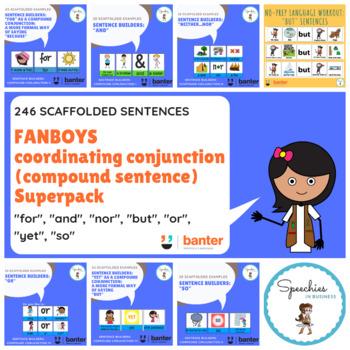 FANBOYS coordinating conjunction (compound sentence) Bundle