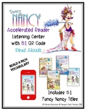 FANCY NANCY Accelerated Reader Listening Center QR Codes * 51 VOCAB-RICH Titles