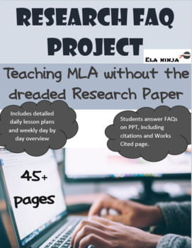 Shakespeare Research: Teaching MLA without the research paper: FAQ Project