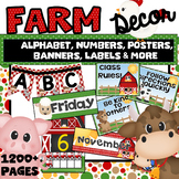 FARM ANIMAL CLASSROOM THEME Decor