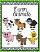 FARM ANIMALS K-1