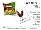 FARM ANIMALS CARDS