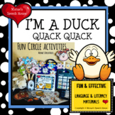 FARM ANIMALS DUCK Early Reader Pre-K CIRCLE
