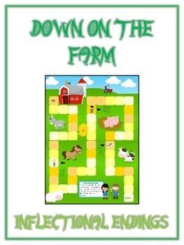 FARM ANIMALS Inflectional Word Endings - ELA First Grade G