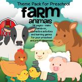 FARM ANIMALS Math Literacy Centers Activities and Printabl
