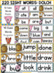 FARM CLASS DECOR: DOLCH WORD WALL: SIGHT WORDS: HIGH FREQUENCY WORDS