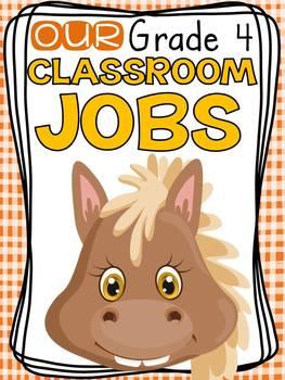 FARM CLASS DECOR: EDITABLE CLASSROOM JOBS