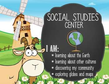 FARM - Classroom Decor: Center Signs, student cards