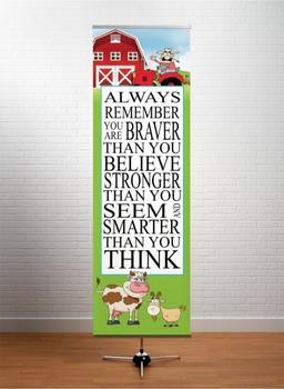 FARM - Classroom Decor: X-LARGE BANNER, Always Remember