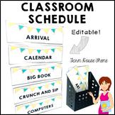 FARM HOUSE Classroom Decor Class Schedule