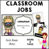 FARM HOUSE Classroom Jobs and Student Tags