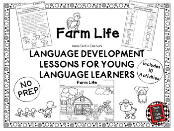 FARM LIFE Language Development Lessons for Young Language Learners