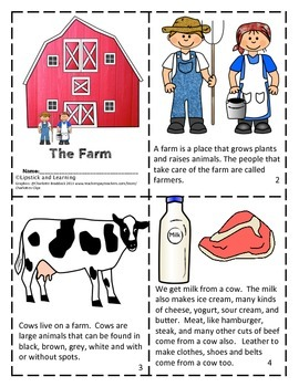 FARM MINI BOOK