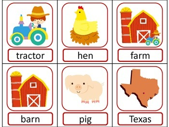 FARM Part of Speech ELA Literacy Center GAMES