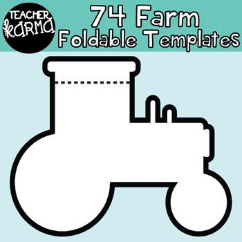 FARM / RURAL: 74 Foldables, Interactives, Flip Book Templates