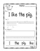 FARM SIGHT WORD CUT AND PASTE
