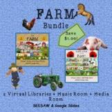 FARM Virtual Library and Music/Media Room Bundle