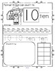 Farm Number Practice Printables - Recognition, Tracing, Co