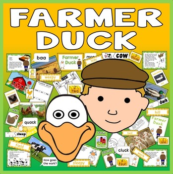 FARMER DUCK STORY TEACHING RESOURCES EYFS KS1 ENGLISH LITERACY SCIENCE ANIMAL