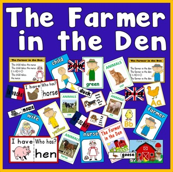 FARMER IN THE DEN TEACHING RESOURCES FARM ANIMALS ROLE PLAY READING