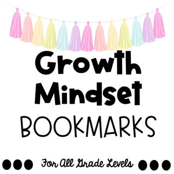 FARMHOUSE CHIC & SHIPLAP Growth Mindset Bookmarks