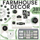 FARMHOUSE Classroom Decoration EDITABLE Classroom Decor