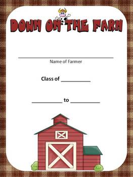 FARMING Classroom Theme (K-3) - Back to School