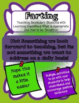 FARTING Children with Autism &/or Learning Disabilities   Social Lessons