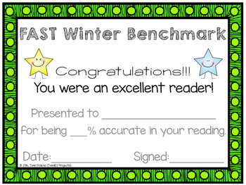 FAST Benchmark Certificate - Winter – Accuracy