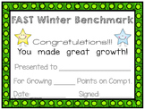 FAST Benchmark Certificate - Winter – Great Growth - 1st Grade
