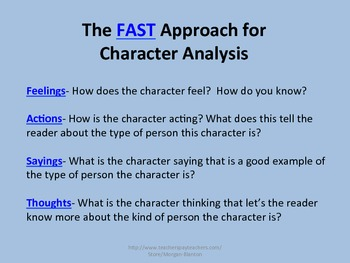 FAST Character Analysis