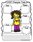 FAST Character Trait Graphic Organizer