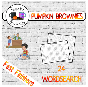 FAST FINISHERS 24 Wordsearch