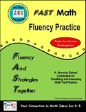 FAST Math Fluency Practice - Kindergarten