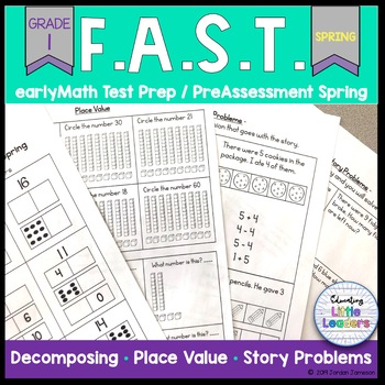 FAST earlyMath PreAssessment Winter & Spring