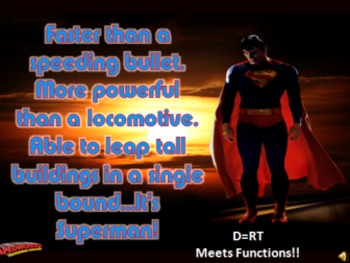 FASTER than a LOCOMOTIVE! COMICS - FUNctions - Linear Systems - D=RT