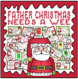 FATHER CHRISTMAS NEEDS A WEE STORY & ROLE PLAY TEACHING RESOURCES EYFS KS1
