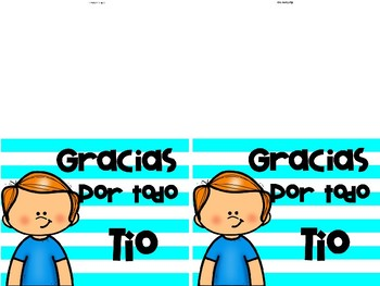 FATHER´S DAY CARDS in Spanish/Tarjetas para papá