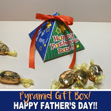 FATHER'S DAY GIFT Pyramid BOX - DIY Gift for Dad! - Instan