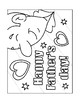 FATHERS DAY COLORING, BUNDLE 17 PAGES, FATHERS DAY ACTIVITIES, FATHERS DAY ART
