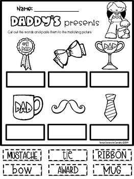 FATHER'S DAY - FREEBIE