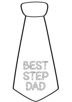 FATHERS DAY TIE BOOKLET