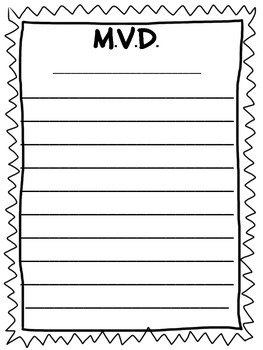FATHER'S DAY WRITING ACTIVITY K-8TH Grade