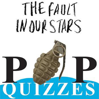 THE FAULT IN OUR STARS 14 Pop Quizzes Bundle