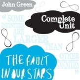 THE FAULT IN OUR STARS Unit Plan - Novel Study Bundle (Green) - Literature Guide