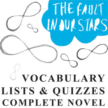 THE FAULT IN OUR STARS Vocabulary Complete Novel (120 words)