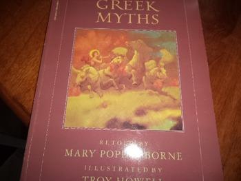 FAVORITE GREEK MYTHS  ISBN 0-590-41339-2
