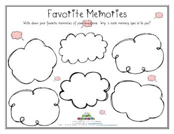 FAVORITE MEMORIES (Grief)